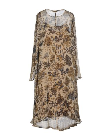 MES DEMOISELLES 3/4 Length Dress in Brown
