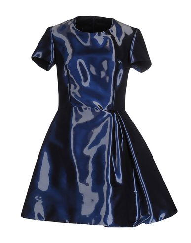 IO COUTURE Short Dress in Blue