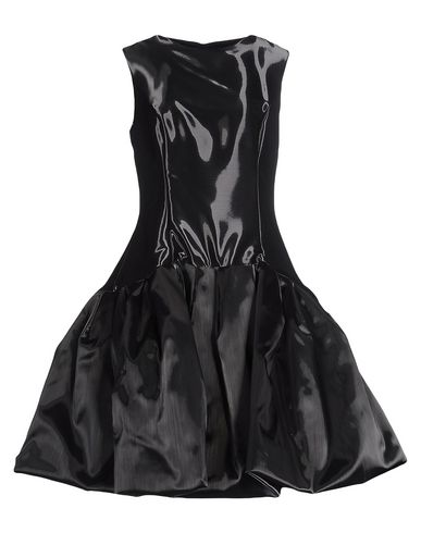 IO COUTURE Knee-Length Dress in Steel Grey