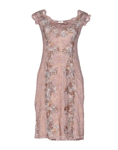 OLVI S Short Dress in Pink