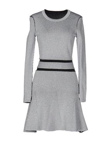 DAGMAR Short Dress in Silver