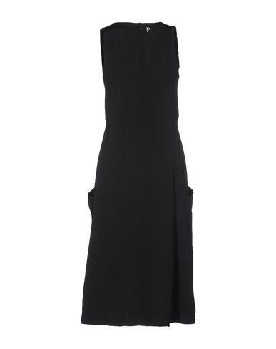DONDUP Knielanges Kleid Shop Angebot Günstigen Preis Outlet Online Besuch qvMMoDIE