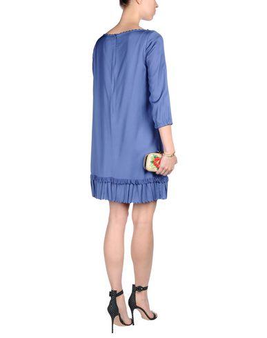 RED VALENTINO SHORT DRESS, PURPLE