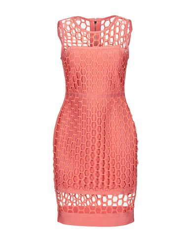FOREVER UNIQUE Short Dress in Salmon Pink