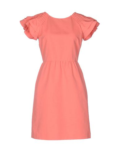 RED VALENTINO SHORT DRESS, SALMON PINK