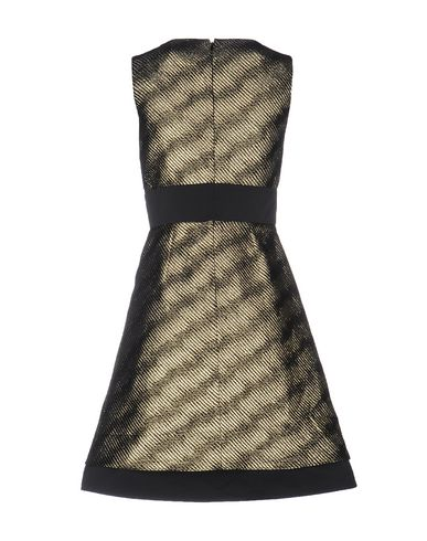 RED VALENTINO EVENING DRESS, GOLD