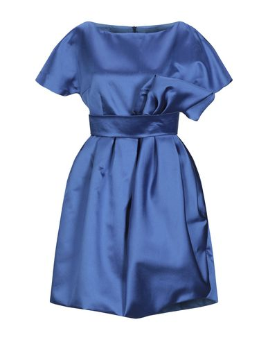 IO COUTURE Short Dress in Bright Blue