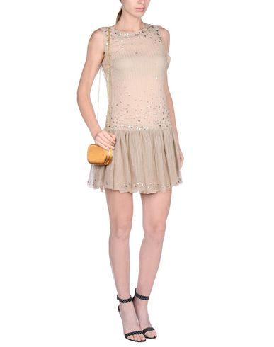 Red Valentino Short Dress, Sand
