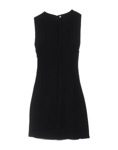 DONDUP SHORT DRESS, BLACK