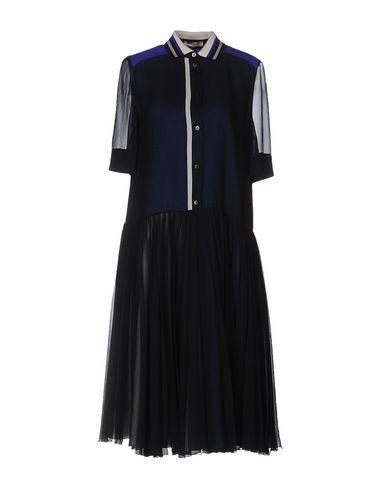 BOUCHRA JARRAR Knee-Length Dress in Dark Blue