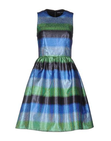 MARKUS LUPFER SHORT DRESS, BLUE