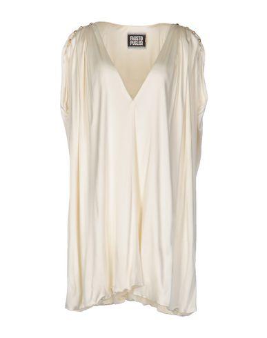 FAUSTO PUGLISI Kurzes Kleid Zuverlässig Auslass Eastbay Verkauf Erschwinglich Visa-Zahlung Online Verkauf Amazon hertA0Dc7