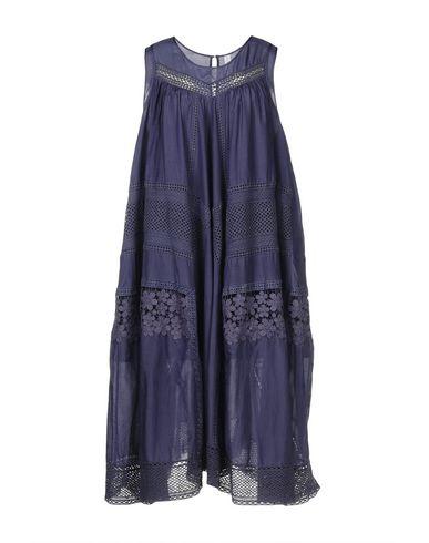 HIGH Midi Dress in Blue