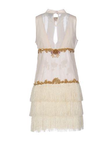 Just Cavalli Short Dress, Beige