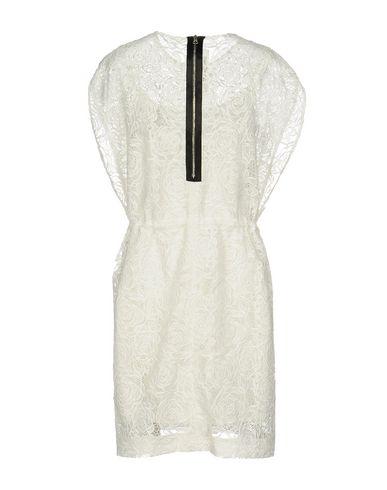 MCQ BY ALEXANDER MCQUEEN SHORT DRESS, WHITE