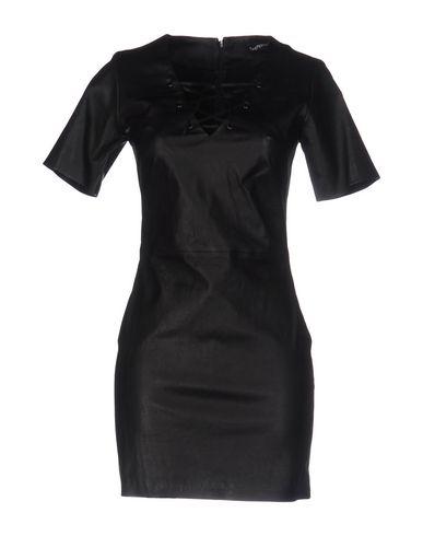 THEPERFEXT Short Dress in Black