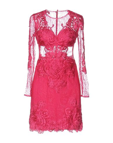 FOREVER UNIQUE Short Dress in Fuchsia
