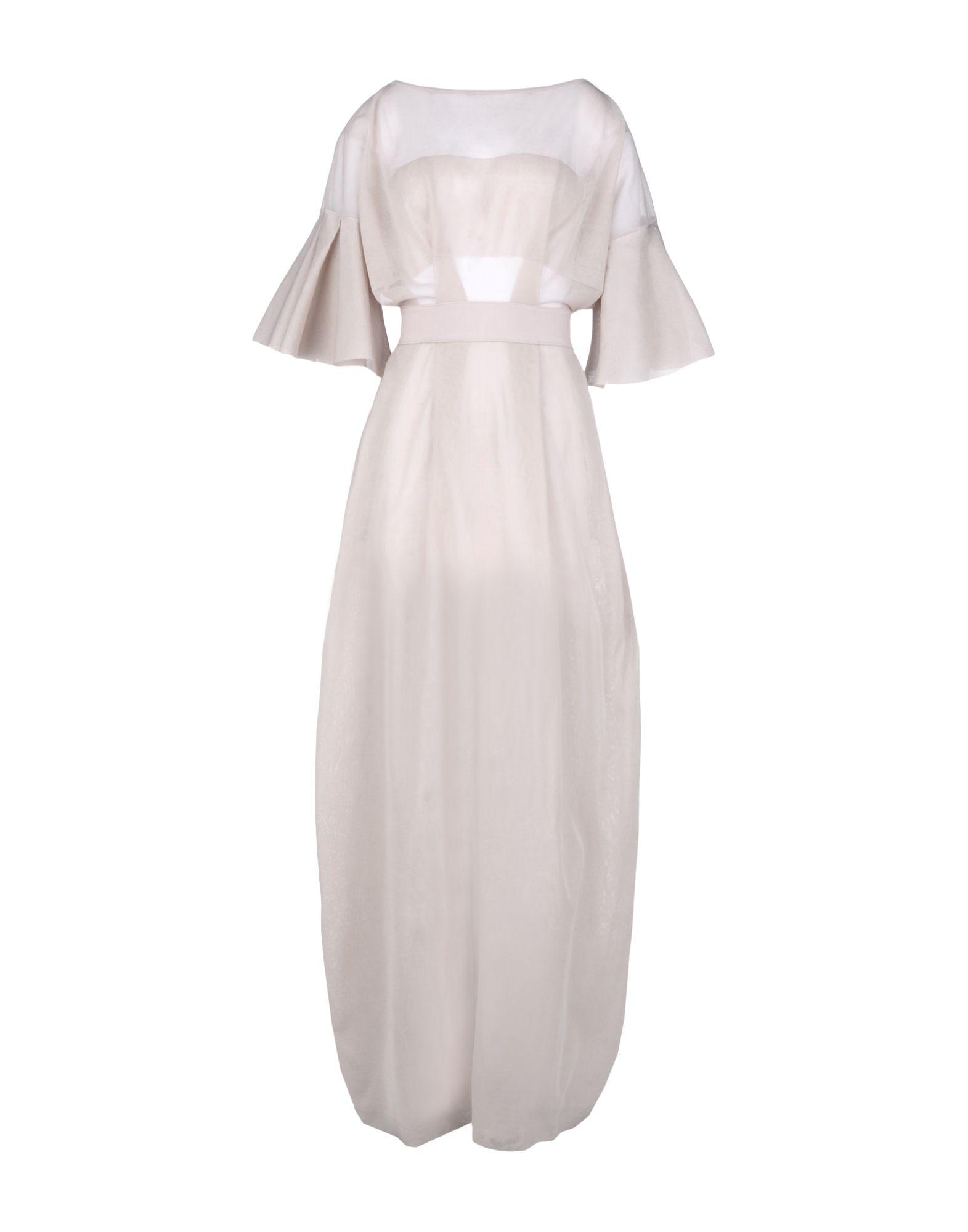free shipping a529d 228ea ANTONINO VALENTI Long dress - Dresses   YOOX.COM