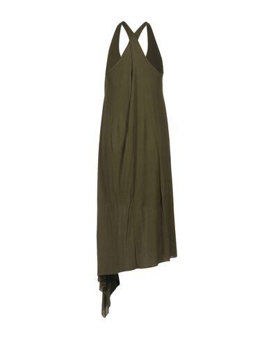 BARBARA BUI KNEE-LENGTH DRESS, MILITARY GREEN