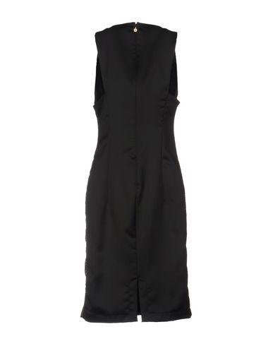 Just Cavalli Knee-Length Dress, Black