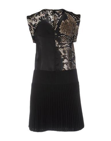 NEIL BARRETT SHORT DRESS, BLACK