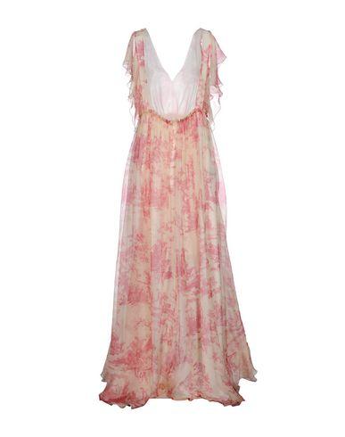 Philosophy Di Lorenzo Serafini Long Dresses, Garnet