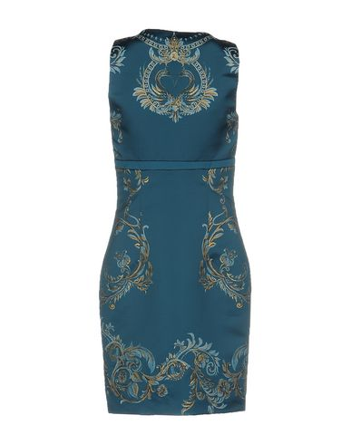 Roberto Cavalli Short Dress, Deep Jade
