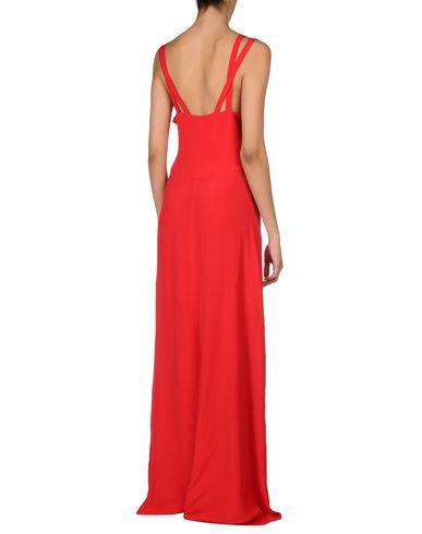 INTROPIA LONG DRESS, RED