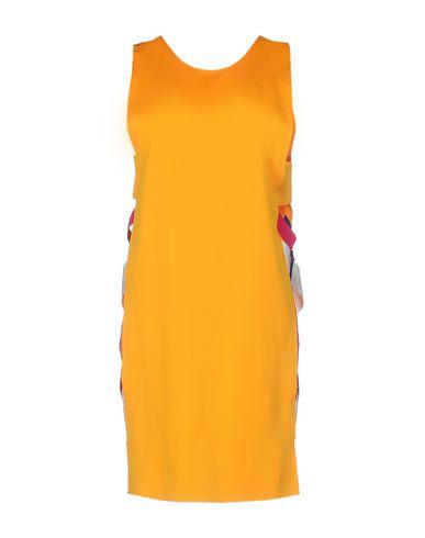 MSGM SHORT DRESS, ORANGE