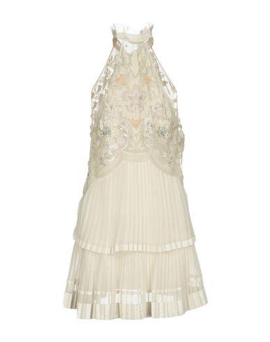 Roberto Cavalli Short Dress, Ivory