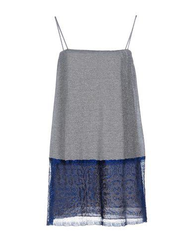 M MISSONI SHORT DRESS, SILVER