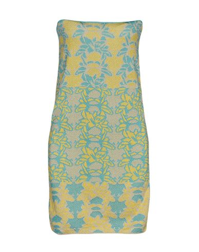 M Missoni Short Dress, Yellow