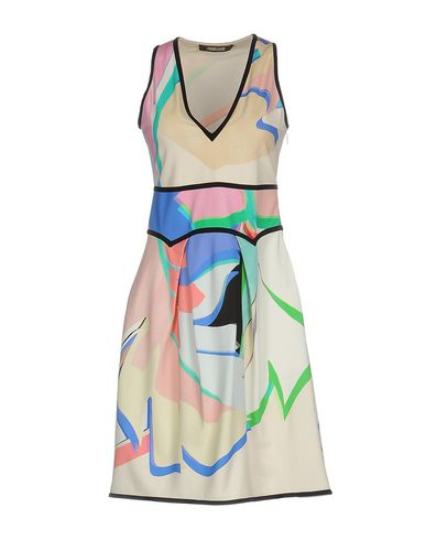 ROBERTO CAVALLI Enges Kleid Kostenloser Versand Top Qualität Rabatt für Billig RMeMm3