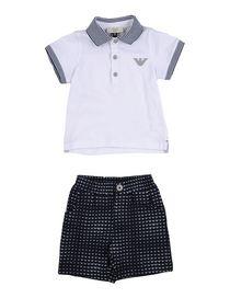 0 Mesi Neonato 24 amp; Tutine Body Vestiti Junior Cotone Armani qp0Iw