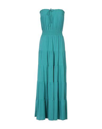 T-BAGS Long Dress in Emerald Green