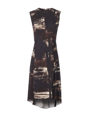 VICTOR ALFARO Knee-Length Dress in Black