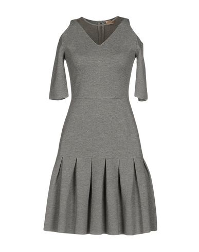 VICEDOMINI Short Dress in Light Grey