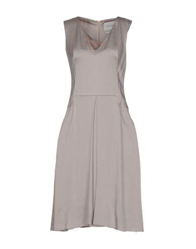 TEATUM JONES Knee-Length Dresses in Dove Grey