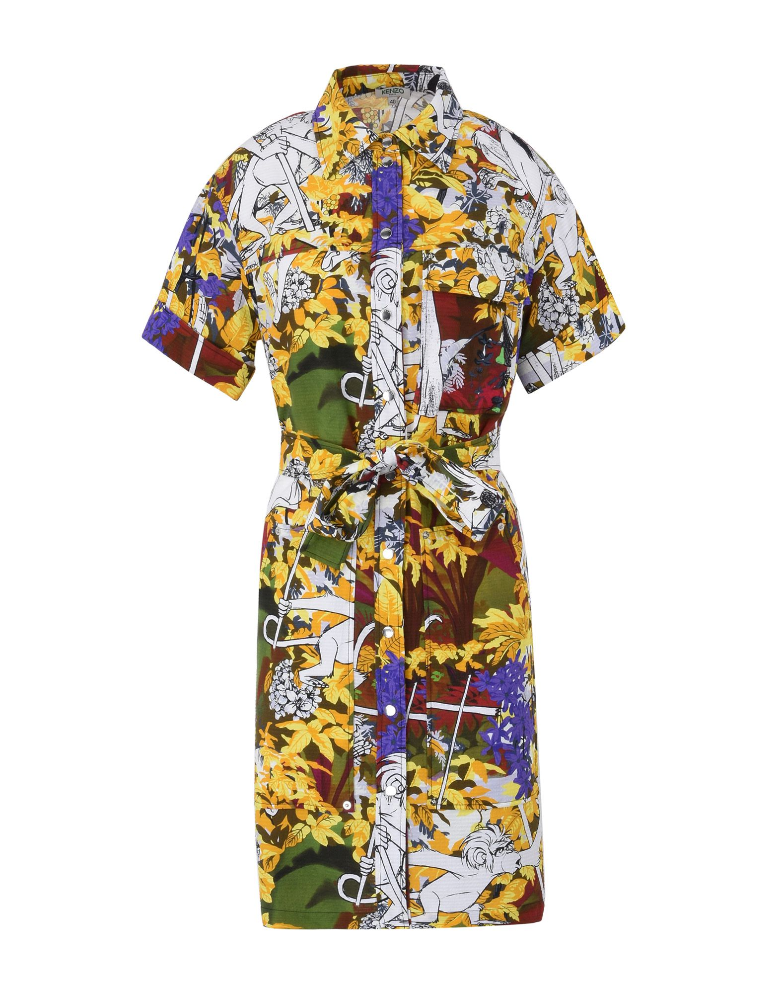 kenzo x disney robe special pe16 shirt dress women kenzo x