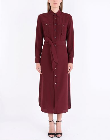 POLO RALPH LAUREN Silk shirtdress Modelo camisero