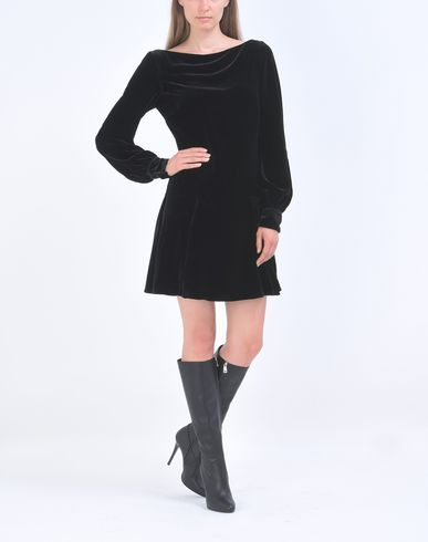 POLO RALPH LAUREN Velvet short dress Kurzes Kleid