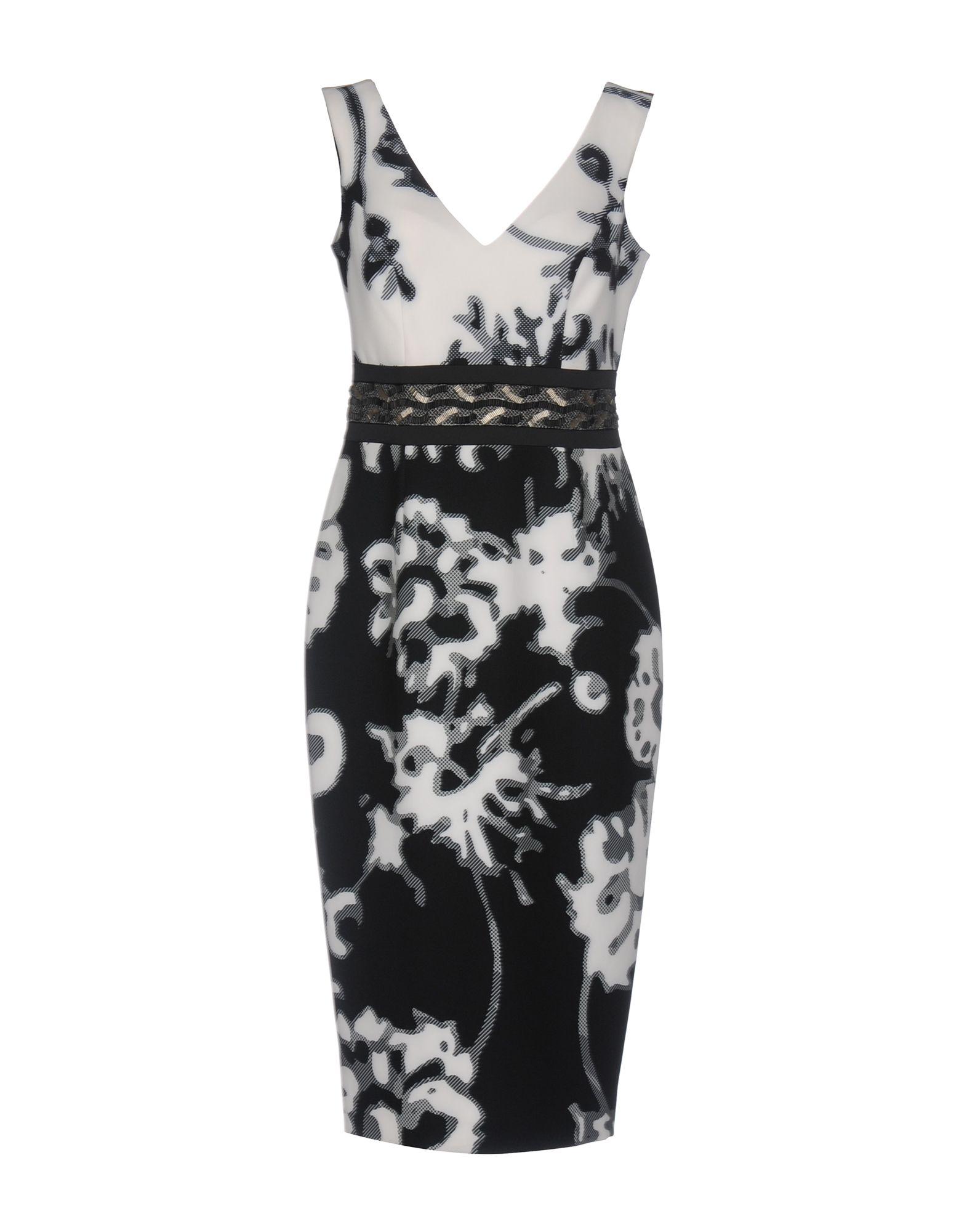 DRESSES - 3/4 length dresses Camilla Milano YdT8SvDruf