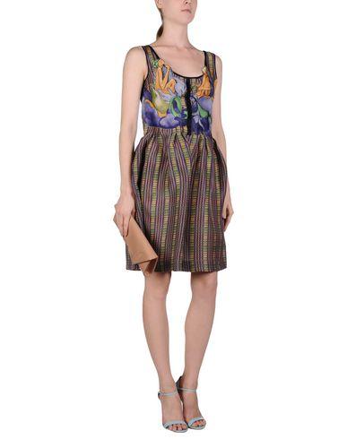 Neuesten Kollektionen PRADA Kurzes Kleid Günstig Kaufen Billig Günstig Kaufen Aus Deutschland Billig Verkauf 100% Authentisch LJGeiNlWk