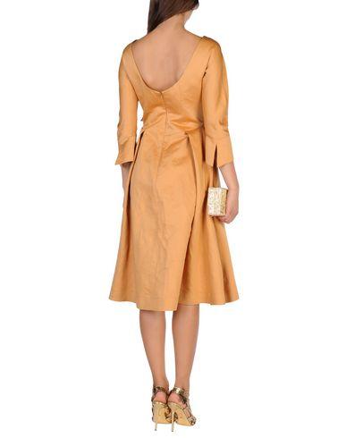 JIL SANDER NAVY Knielanges Kleid Verkauf bester Großhandel C6Qccy