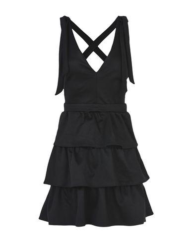 OH MY LOVE Short Dress in Black