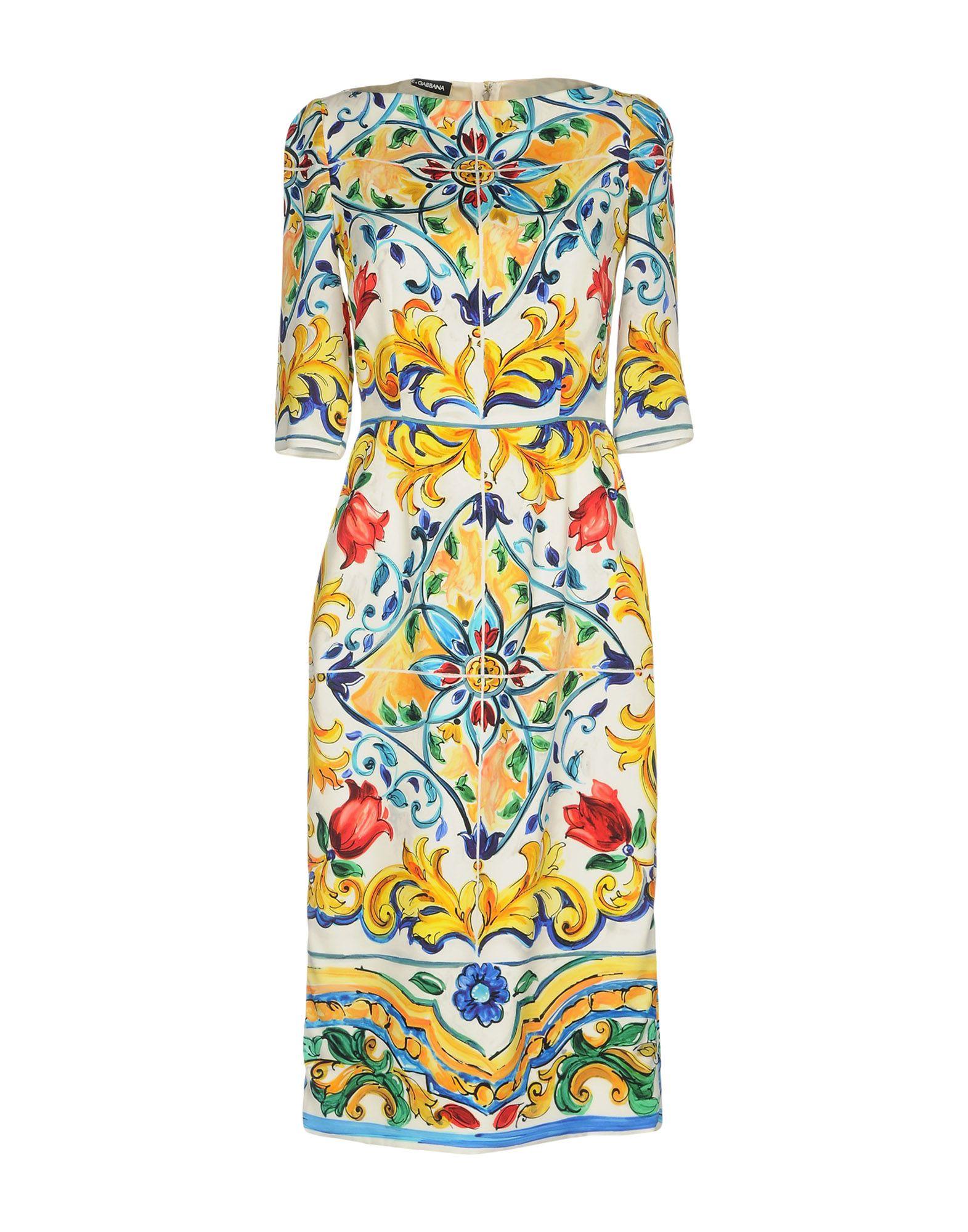 Vestito Al Ginocchio Dolce & Gabbana Donna - Acquista online su Wd6ZuyPr