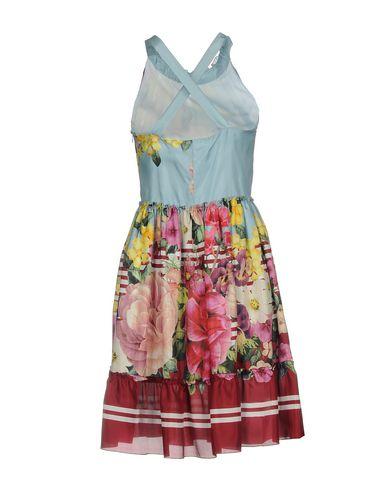 BLUGIRL BLUMARINE Knielanges Kleid 2018 zu verkaufen Besuchen Sie Online-Verkauf YaTM9