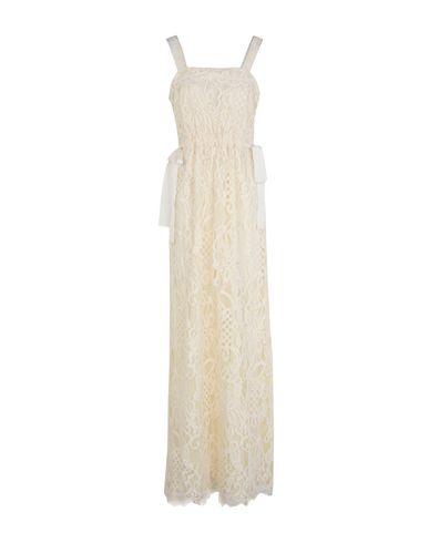 INTROPIA Long Dress in Beige
