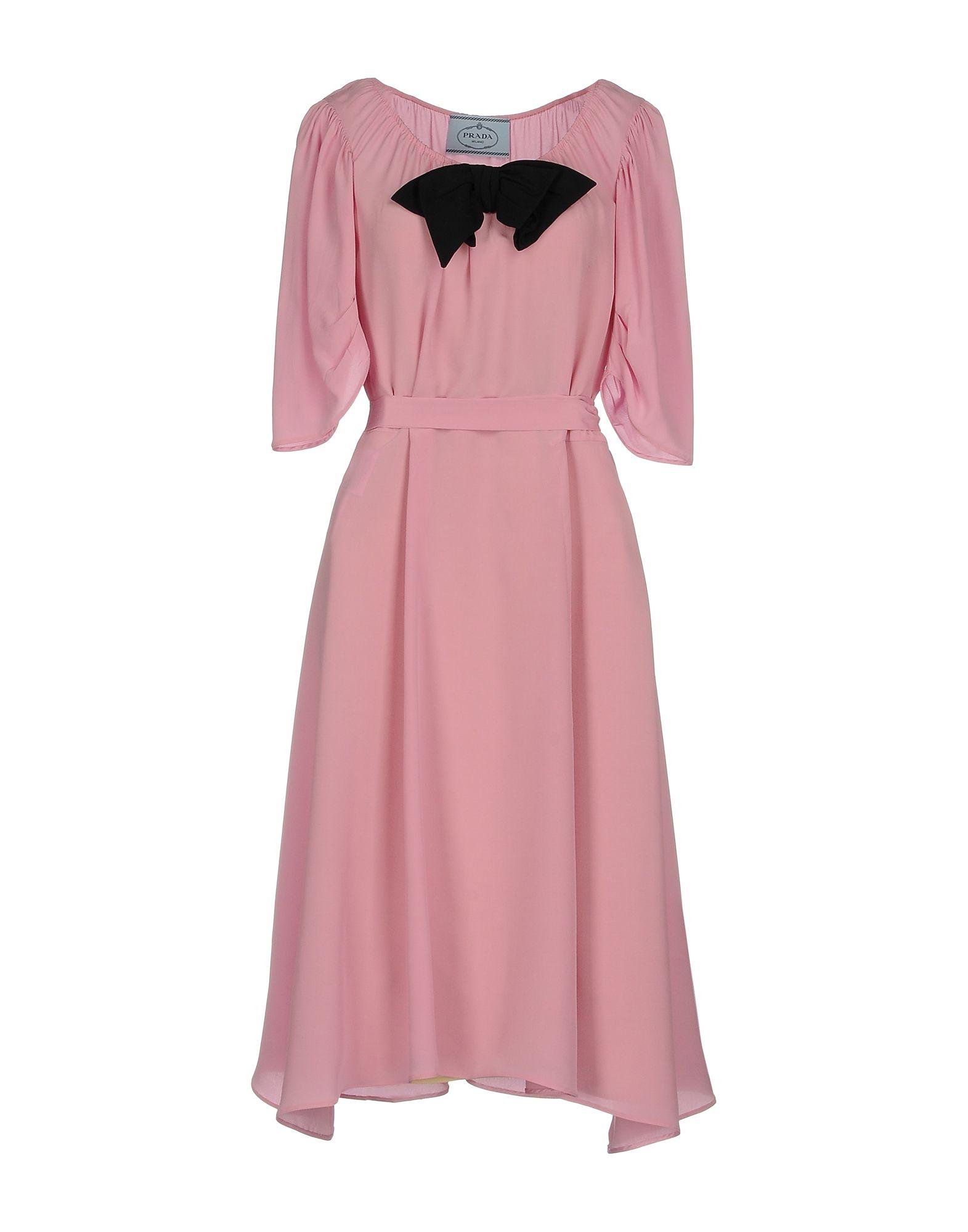 Vestito Al Ginocchio Prada Donna - Acquista online su Nlv9P