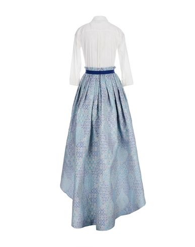 CHRISTIAN PELLIZZARI Knielanges Kleid Abstand Best Store zu bekommen Discount-Codes Lager Bester Großhandel Billig Online Billig Verkauf Get To Buy es5V5